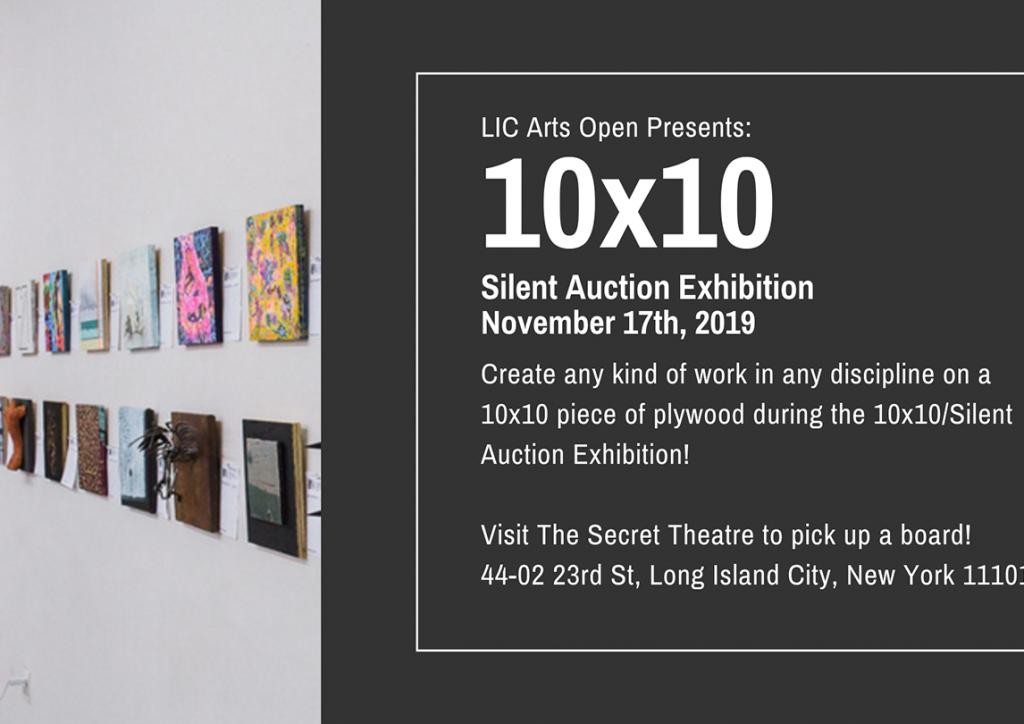 10x10 Silent Auction Exhibition November 2019